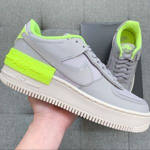 Nike Air Force 1 shadow grey white shoes